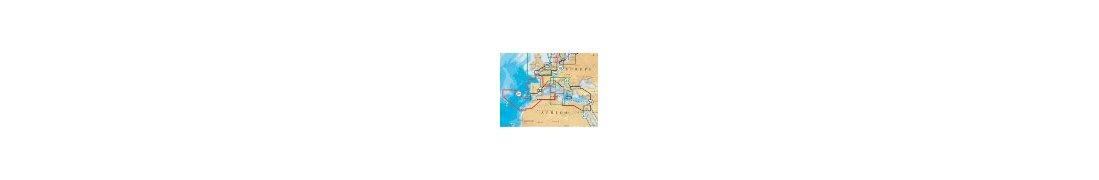 Cartas náuticas. Cartografía marina